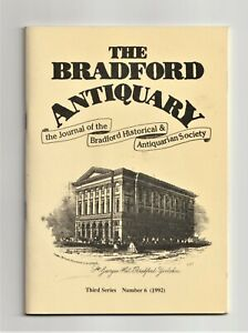 The BRADFORD ANTIQUARY, local history, VICTORIAN PUBS, World War II, Yorkshire