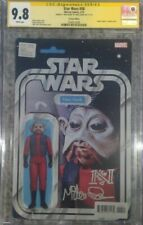 "Star Wars #58 action figure variant_CGC 9.8 SS_Signed Mike Quinn ""Nien Nunb"""