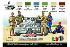 LifeColor CS14 Italian WWII Regio Esertico Uniforms Colours 6x 22ml