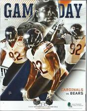 2015 Chicago Bears vs Arizona Cardinals Football Program Pernell McPhee cover