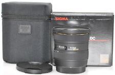 Sigma 10-20 mm 4-5.6 HSM EX AF DC Objektiv für Canon TOP *15