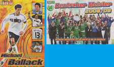 Just kick-It! doble-póster michael ballack-vfl wolfsburg maestro 2009