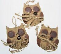 Set 2 Red Deer Cutout Lantern Christmas Ornaments Rustic Primitive Deer Woods