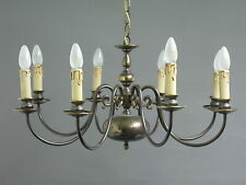 ottone plafoniera lampadario lampadario 65 cm diametro