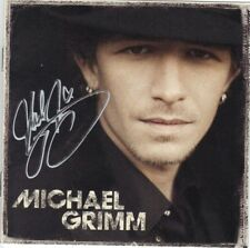 Michael Grimm cd signed autographed America's Got Talent winner