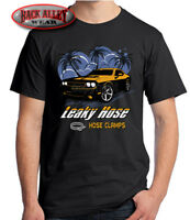 Leaky Hose Clamps T-SHIRT M-3XL HOT ROD CooL Car Crusin' FUNNY Gearhead