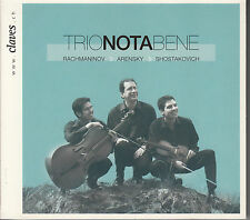 CD ALBUM TRIO NOTA BENE / RACHMANINOV / SHOSTAKOVICH / DIGIPACK