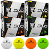 WILSON STAFF DUO PROFESSIONAL 3 PIECE GOLF BALLS ALL COLOURS / DOZEN DEALS