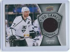 16/17 UPPER DECK SERIES 1 UD GAME JERSEY JEFF CARTER KINGS *52907