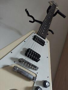 Epiphone 1958 Korina Flying V Electric Guitar -- Cream Limited Edition