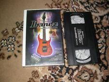 Ibanez Double Edge Tremolo Piezo PROMO VHS Cassette John 5 Wes Borland RARE