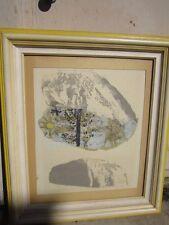 Early Sister Mary Corita Kent Serigraph Silkscreen  Hand Signed Pop Art