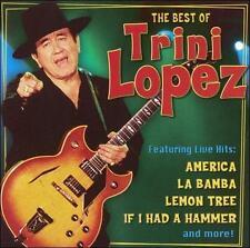 The Best of Trini Lopez [St. Clair] by Trini Lopez (CD Apr-2007 La BamBa America