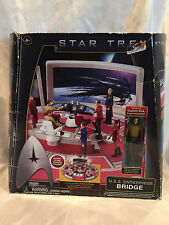 BRAND NEW 2009 PLAYMATES TOYS STAR TREK U.S.S. ENTERPRISE BRIDGE PLAY SET