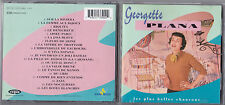 CD GEORGETTE PLANA LES PLUS BELLES CHANSONS BEST OF 20T DE 1993