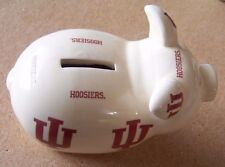 UI University of Indiana Hoosiers porcelain piggy bank Jenkins has crazing