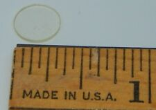 9mm x 1mm CIRCLES (144+-)Semi-Clear Acrylic Circle Round Disc(#2323)