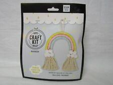 Fabric Editions Pastel Rainbow Rope Craft Kit New