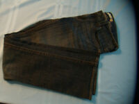 Refuge Skinny Low Rise Denim Blue Jean Womens Junior 7 Lightly Preowned