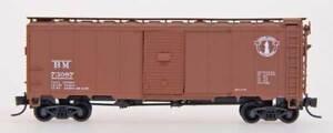 InterMountain N Scale 65761 Boston & Maine White Minuteman 1937 AAR 40' Boxcar