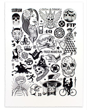 Mike Giant - Modern Hieroglyphics Limited Edition Print SOLD OUT