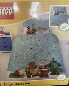 LEGO Reversible Single Duvet Cover& Pillow Case Set