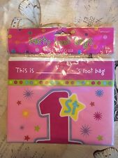 8 Girls 1st Birthday Loot Bags. Party Bags. Lootbag. Stars. New