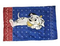 101 Dalmatians Single Standard Pillowcase Double Sided Disney