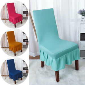 Stretch Chair Cover Slipcover Solid Wedding Banquet Wedding Party Home Decor