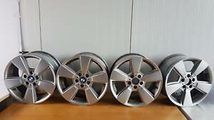 BMW X3 E83 4 Alufelgen Sternspeiche 143 Felgen 8Jx18 ET46 0545078 BBS 3411524