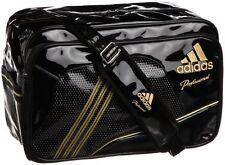 NEW RARE Adidas Professional Embroidered Gold logo Duffle Shoulder Bag Japan