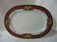 """Noritake Royal Hunt 14"""" Oval Platter #3930 Christmas Holiday China"""