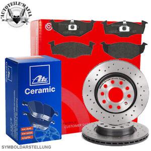 Brembo Bremsensatz gelocht Ceramic HINTEN Ø310 mm Seat Leon VW Golf Passat