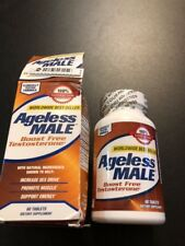 Ageless Male Boost Free Testosterone Test Booster 60 Tab Exp 7/17:19