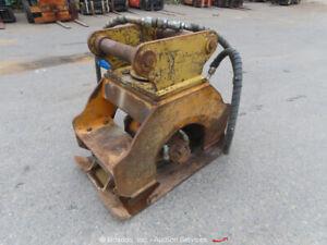 Heavy Equipment Hydraulic Excavator Plate Compactor Hoe-Pac Attachment bidadoo