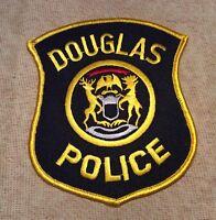 MI Douglas Michigan Police Patch