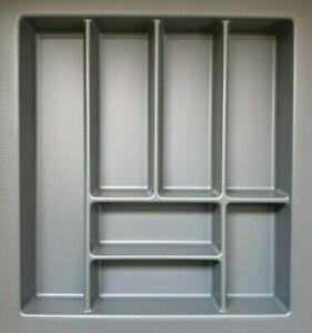 Besteckeinsatz BAM 50 mit 7 Fächern (B 40-45 x T 44-50 cm) für 50er Schubkasten