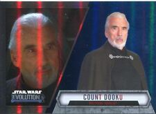 Star Wars Evolution 2016 Blue Parallel Card #96 Count Dooku - Political Idealist