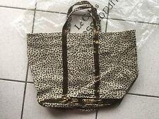 Vanessa Bruno sac cabas lin sable paillettes mordorées médium  💙