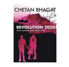 "A FICTION NOVEL BOOK WRITTEN BY CHETAN BHAGAT ""REVOLUTION 2020"" (ENGLISH)"
