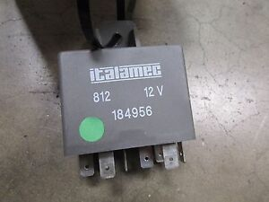 Maserati Coupe, Spyder, Gransport, Windshield Wiper Relay, Used, P/N 184956