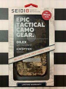 SEIDIO Dilex KRYPTEK Highlander with Kickstand - iPHONE X/XS  *N*E*W*