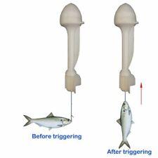 Luminous Fishing Float Bobber Smart Automatic Fish Bite Night Trigger Hook Buoy