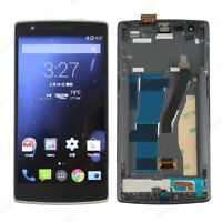 For Oneplus One 1+ A0001 LCD Display Touch Screen Digitizer Assembly + Frame BT2