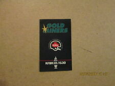 CFL Sacramento Gold Miners Rare 1993 Pocket Schedule #2