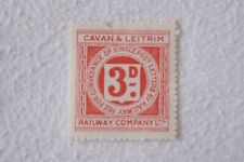 Cavan & Leitrim Irish Ireland Railway Newspaper Parcel Letter Stamp