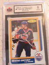 Wayne Gretzky 1986-87 box bottom