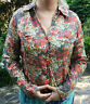 BNWT FAT FACE Size 16 Ladies Cotton Blouse Top HAYLING Long Sleeved Shirt Floral