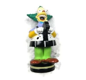 """THE SIMPSONS 3D CHESS SET REPLACEMENT PIECE Crusty Clown Black Knight FIGURE 3"""""""