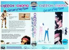 CHEECH AND CHONG - GET OUT OF MY ROOM  *RARE VHS TAPE*   1985